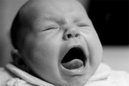 unhappy baby