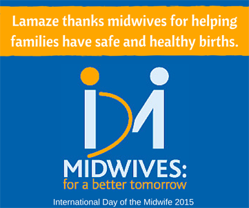 Lamaze and Midwives IDM 2015