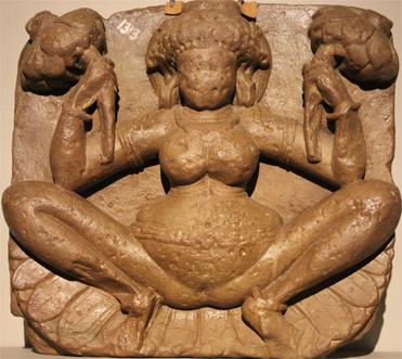 Lajja_gauri ancient birth art