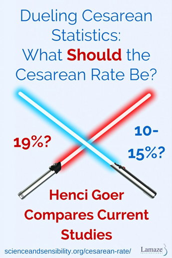 Dueling Cesarean Statistics- What Should the Cesarean Rate Be-